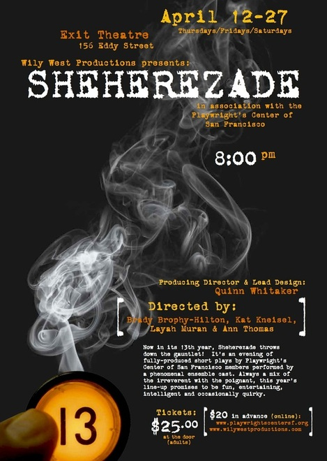 Sheherezade2013poster